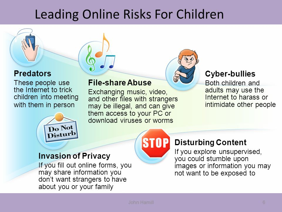 Leading Online Risks For Children