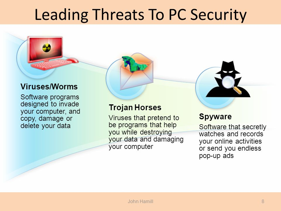 Leading Threats To PC Security