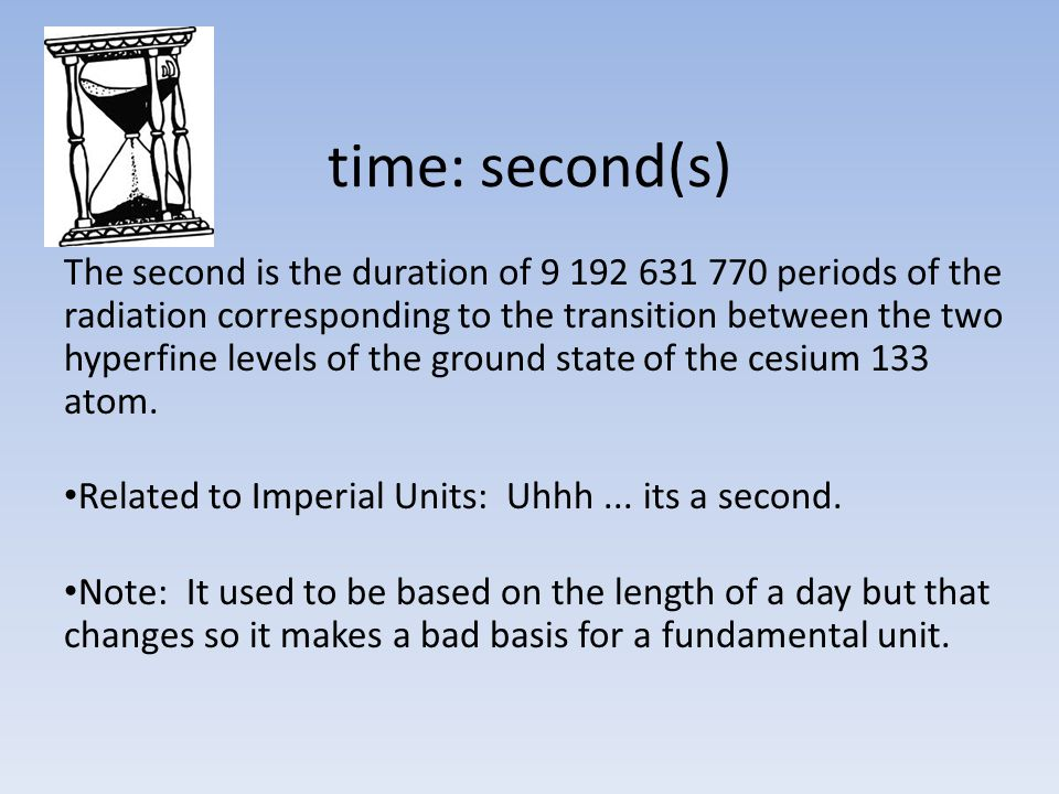 time: second(s)