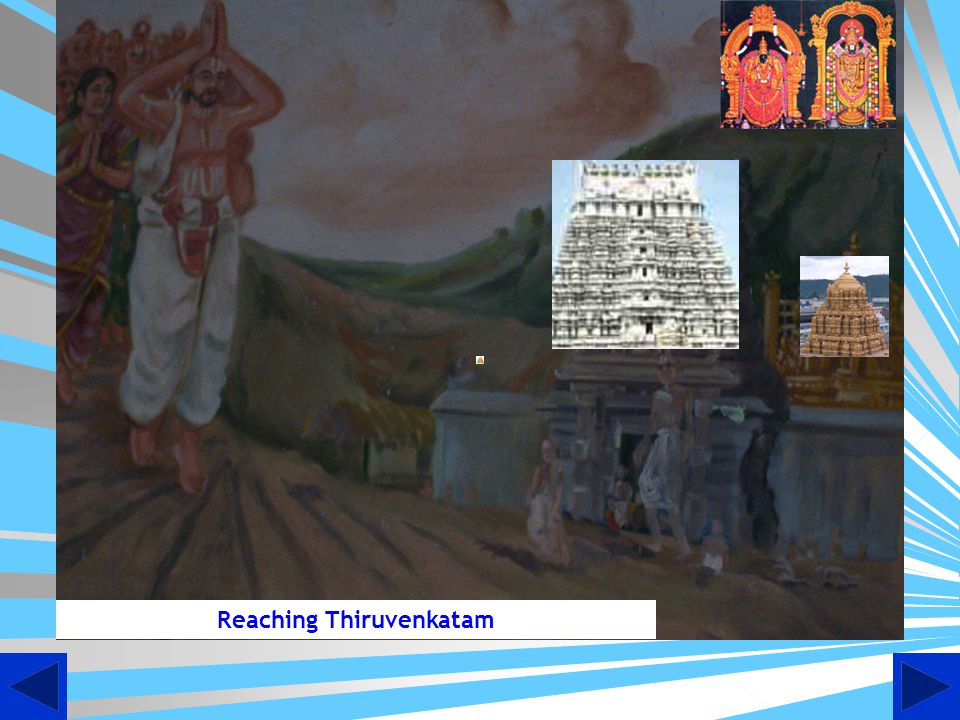 Reaching Thiruvenkatam