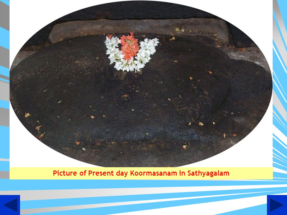 Picture of Present day Koormasanam in Sathyagalam