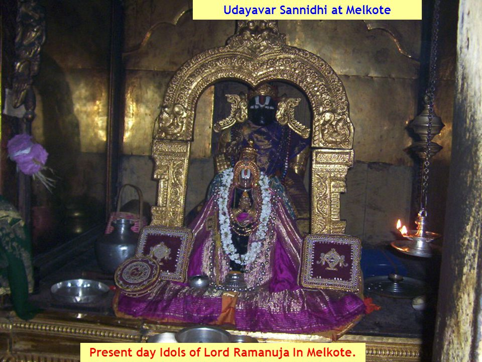 Udayavar Sannidhi at Melkote