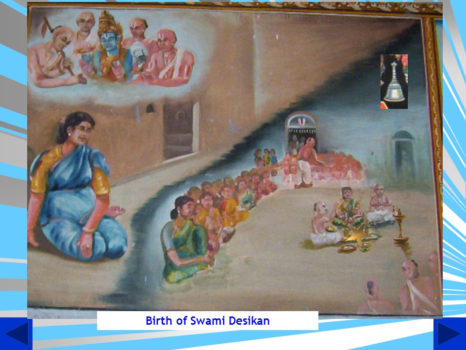 Birth of Swami Desikan