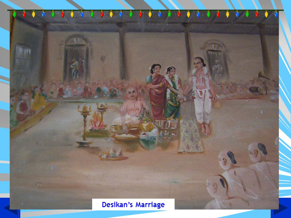 Desikan's Marriage