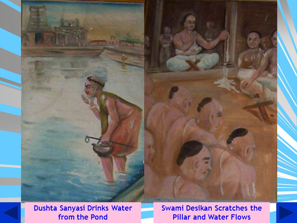 Dushta Sanyasi Drinks Water from the Pond