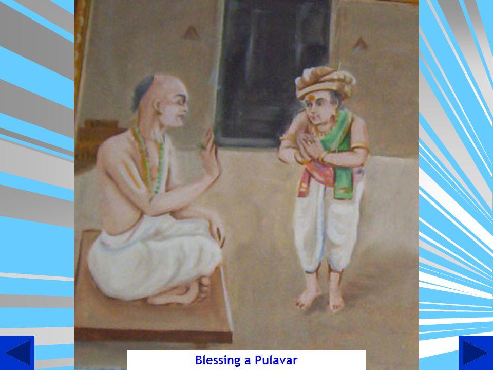 Blessing a Pulavar