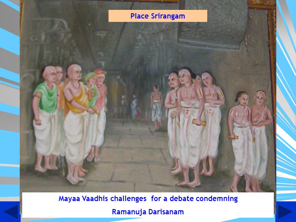 Mayaa Vaadhis challenges for a debate condemning