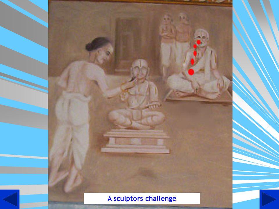 A sculptors challenge