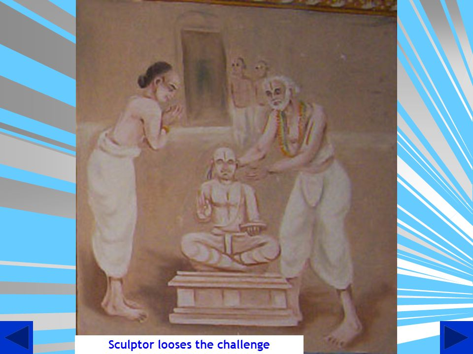 Sculptor looses the challenge