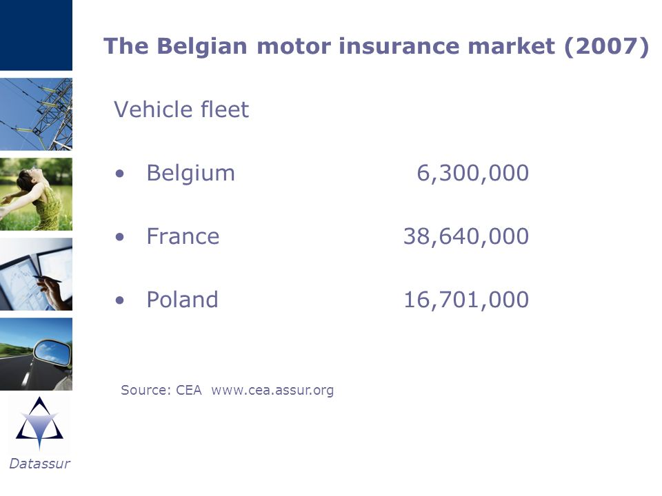 The Belgian motor insurance market (2007)
