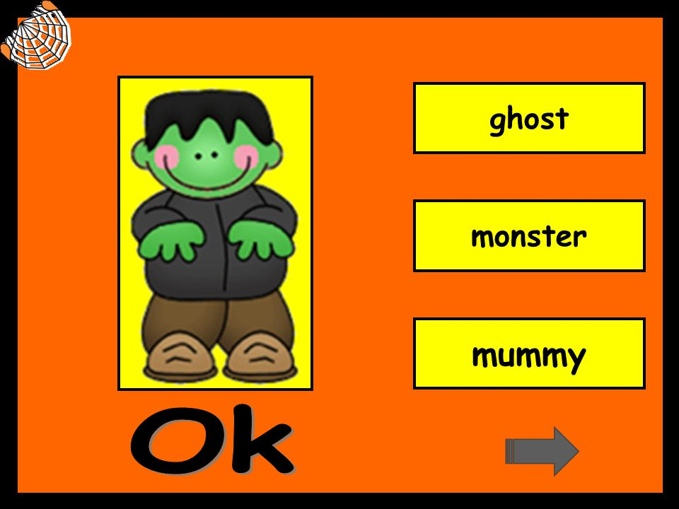 ghost monster mummy Ok