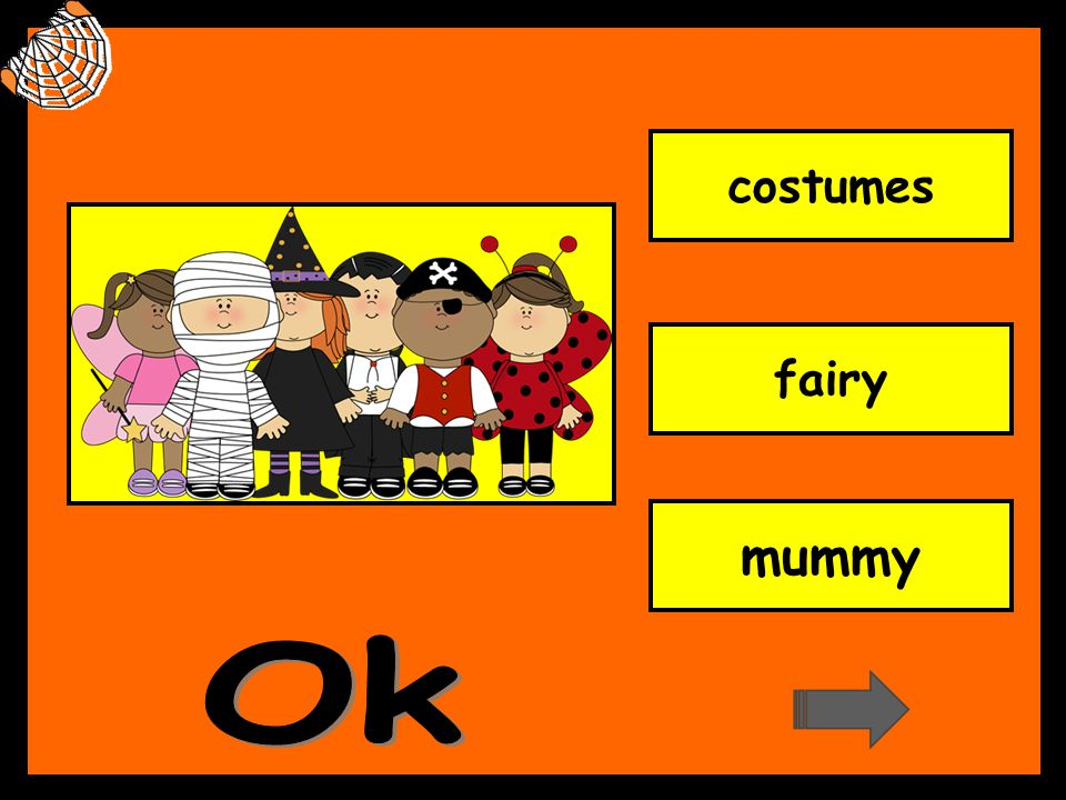 costumes fairy mummy Ok