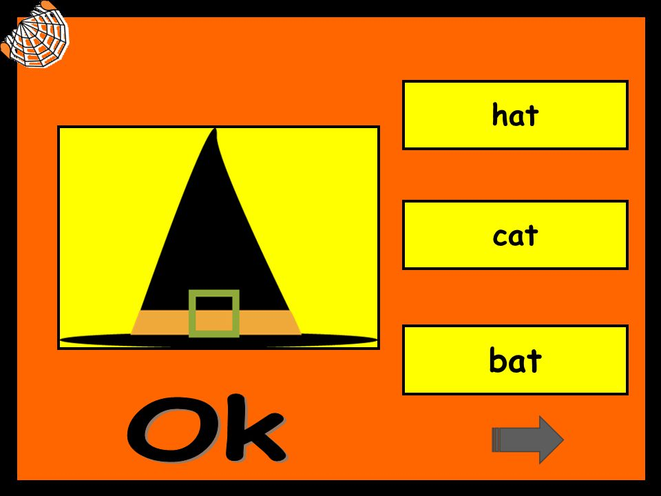 hat cat bat Ok