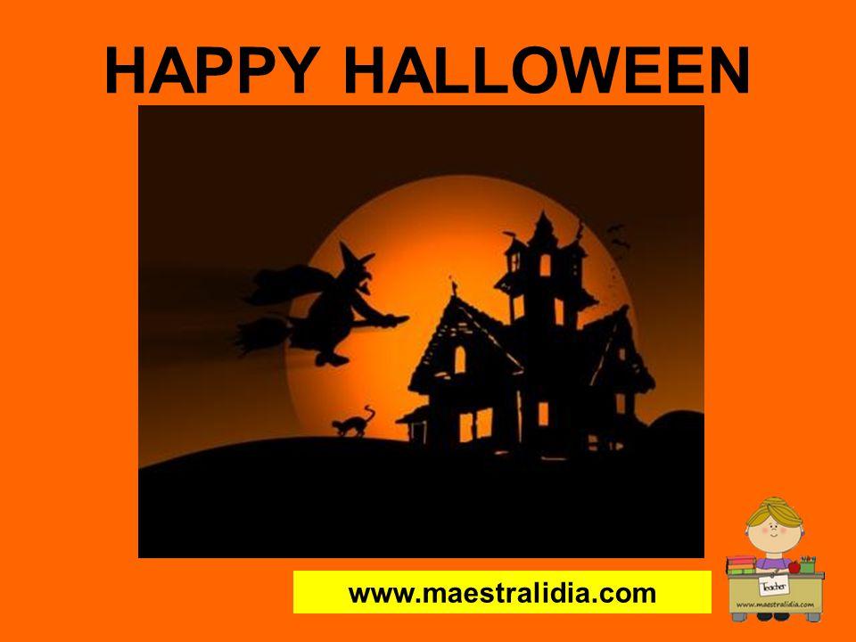 HAPPY HALLOWEEN www.maestralidia.com