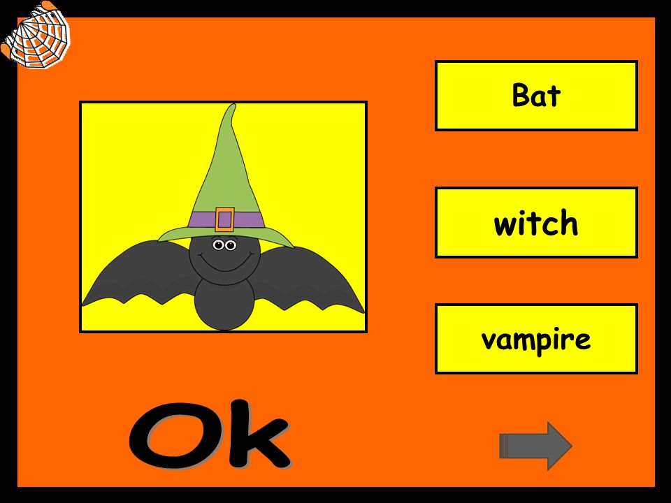 Bat witch vampire Ok