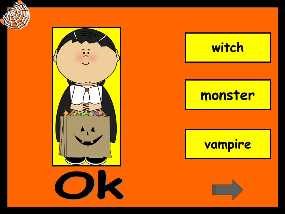 witch monster vampire Ok