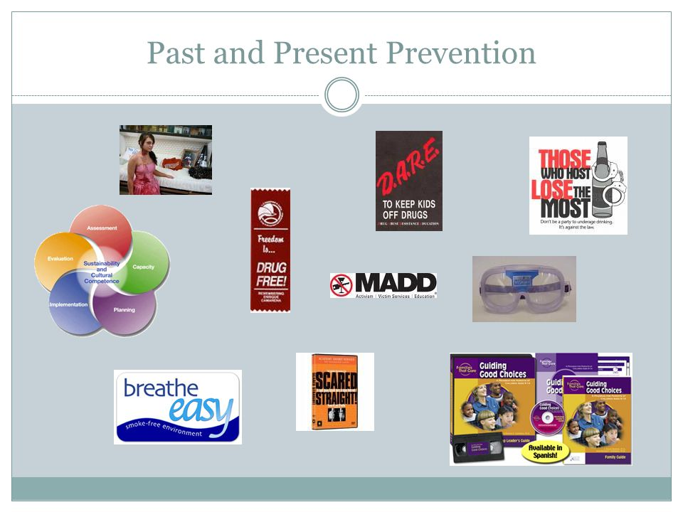 Past and Present Prevention