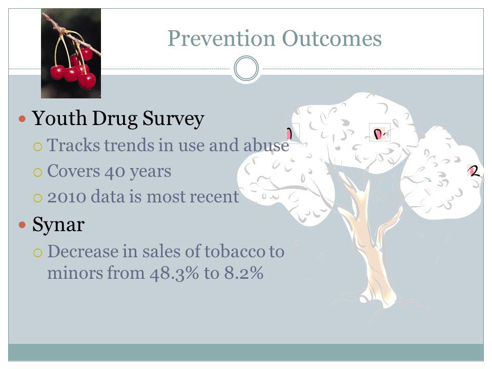 Prevention Outcomes Youth Drug Survey Synar