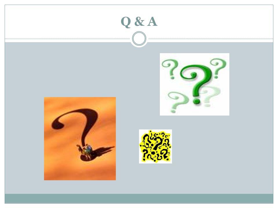 Q & A
