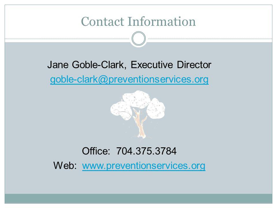 Jane Goble-Clark, Executive Director