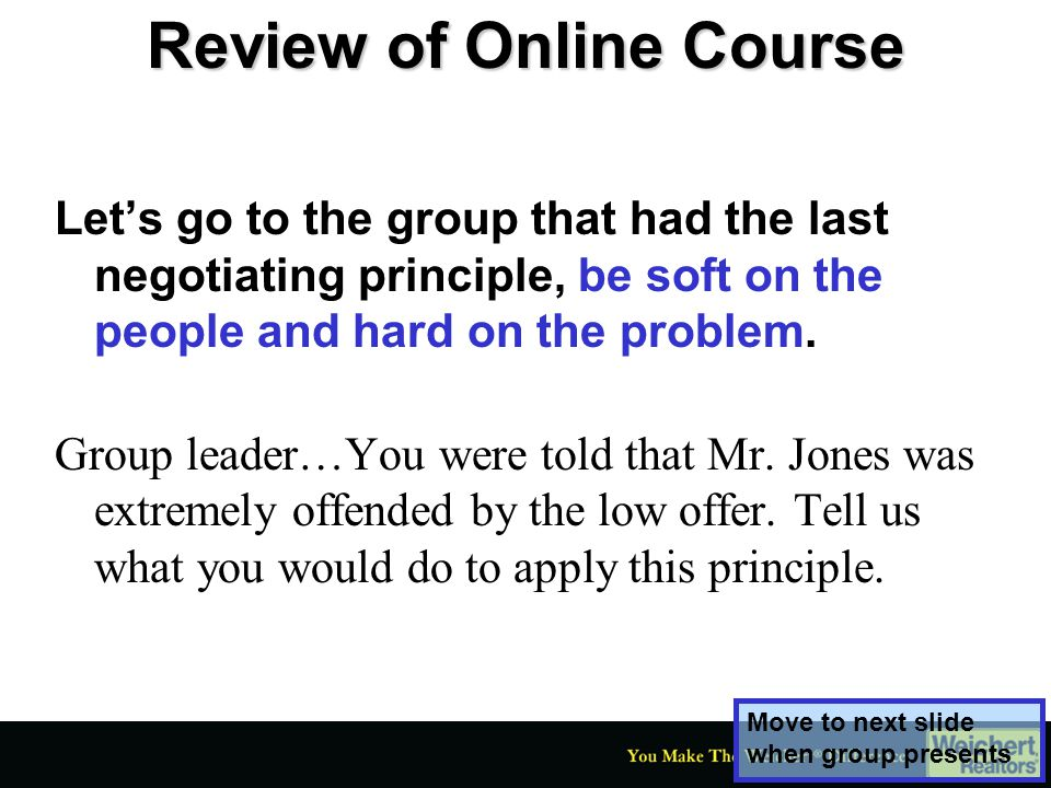Review of Online Course