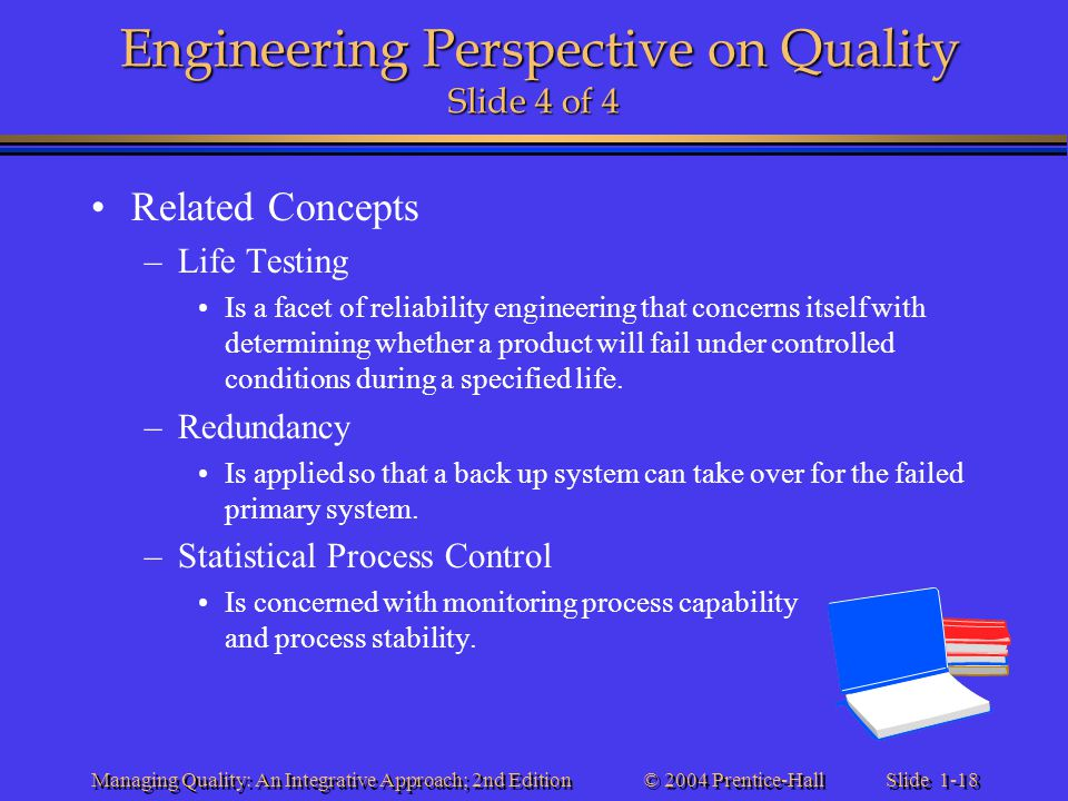 Engineering Perspective on Quality Slide 4 of 4