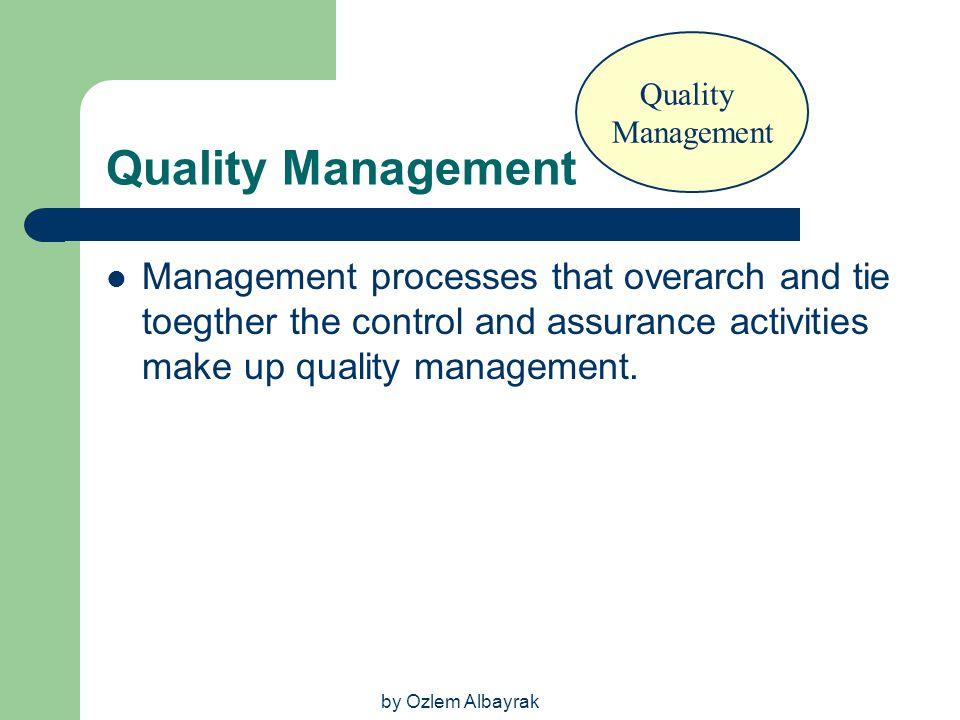 Quality Management. Quality Management.