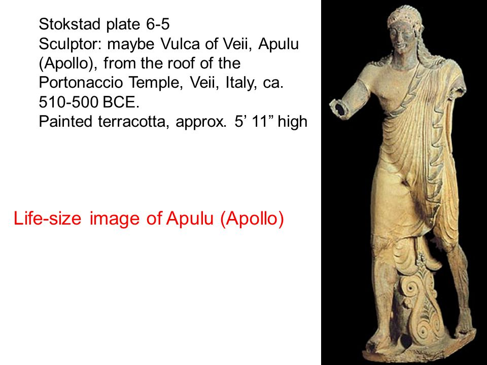 Life-size image of Apulu (Apollo)