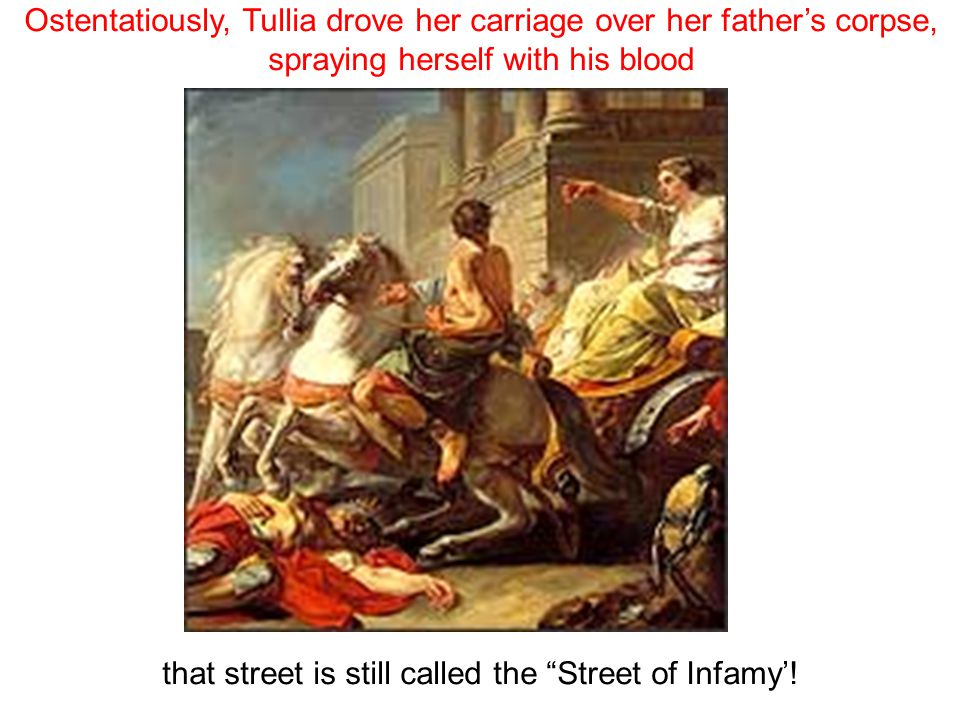 that street is still called the Street of Infamy'!