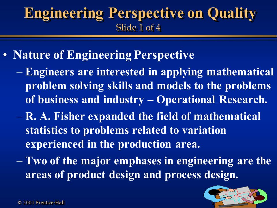 Engineering Perspective on Quality Slide 1 of 4