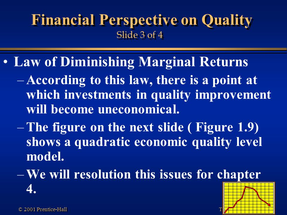 Financial Perspective on Quality Slide 3 of 4