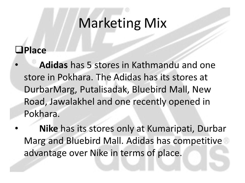 Marketing Mix Place.