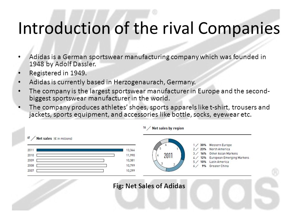 Introduction of the rival Companies