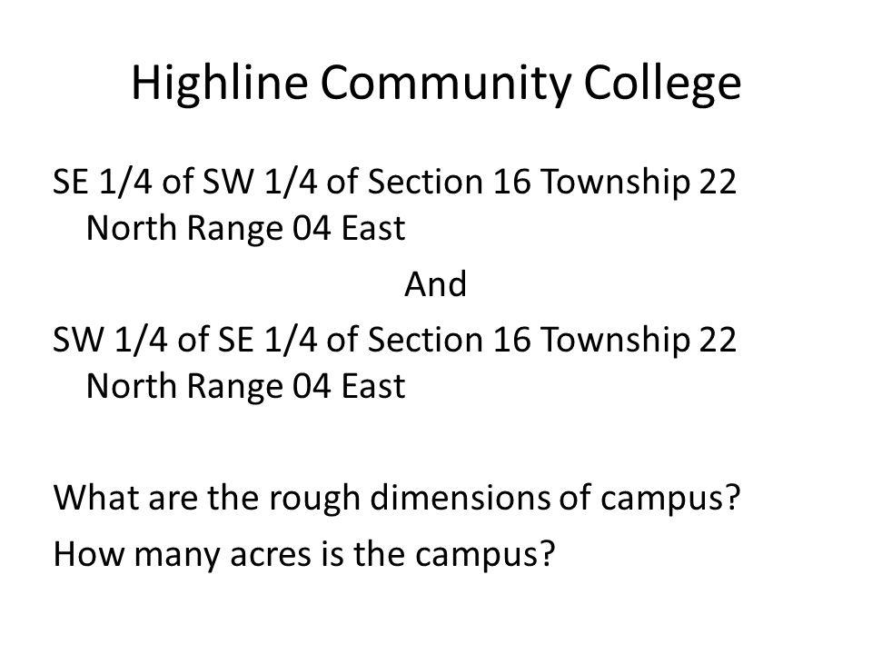Highline Community College