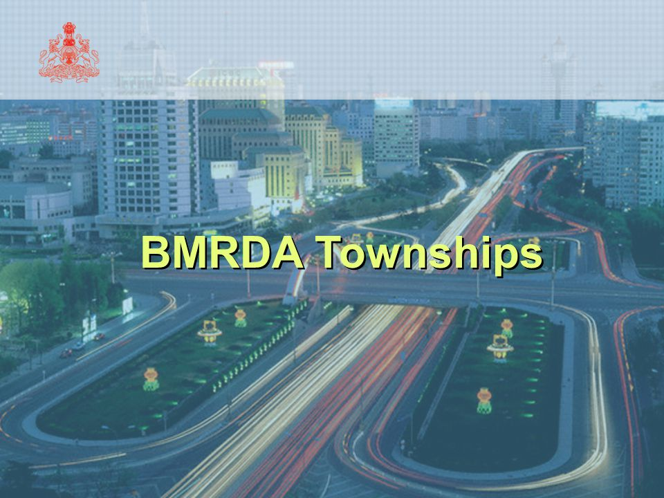 BMRDA Townships