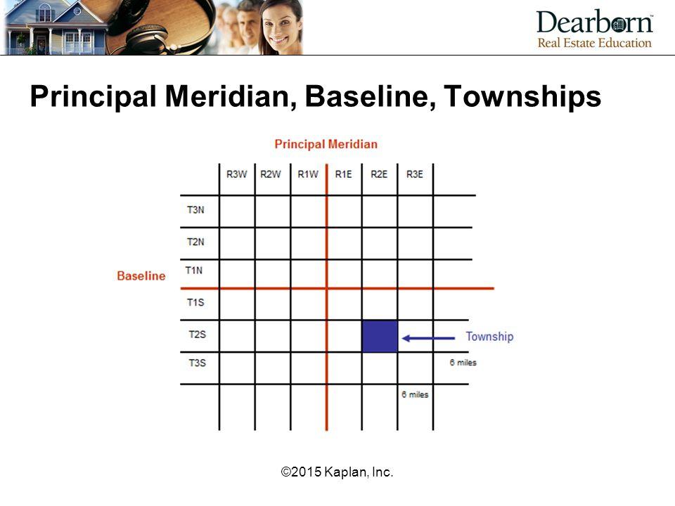 Principal Meridian, Baseline, Townships