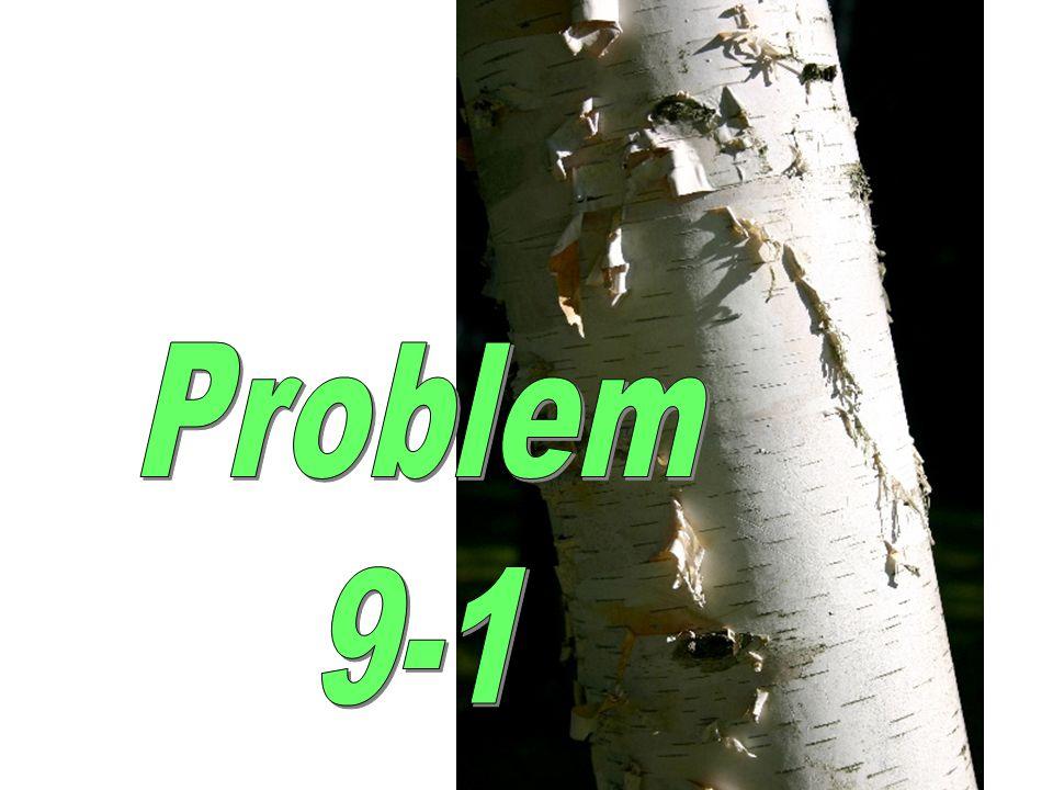 Problem 9-1