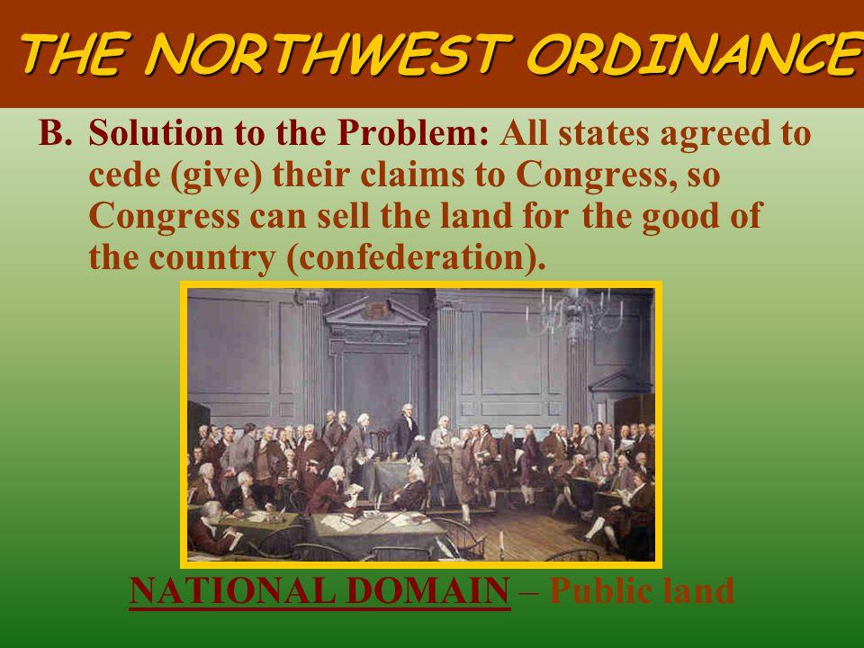 THE NORTHWEST ORDINANCE