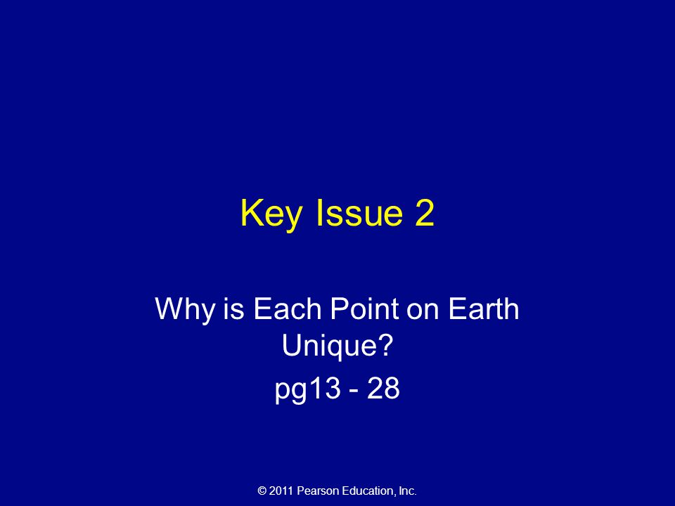Why is Each Point on Earth Unique pg13 - 28