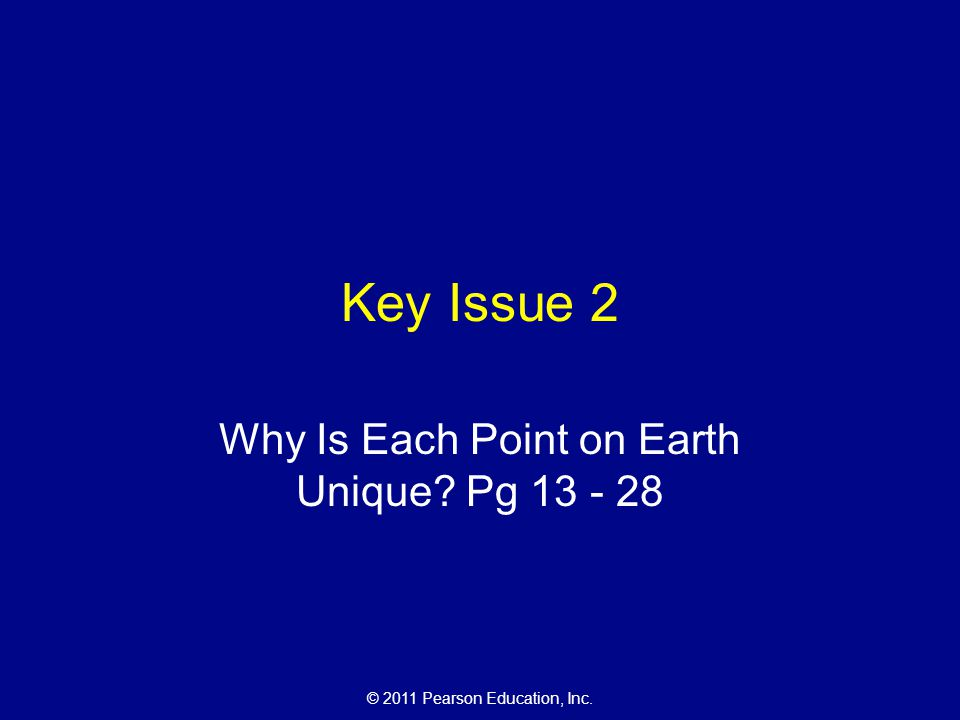 Why Is Each Point on Earth Unique Pg 13 - 28