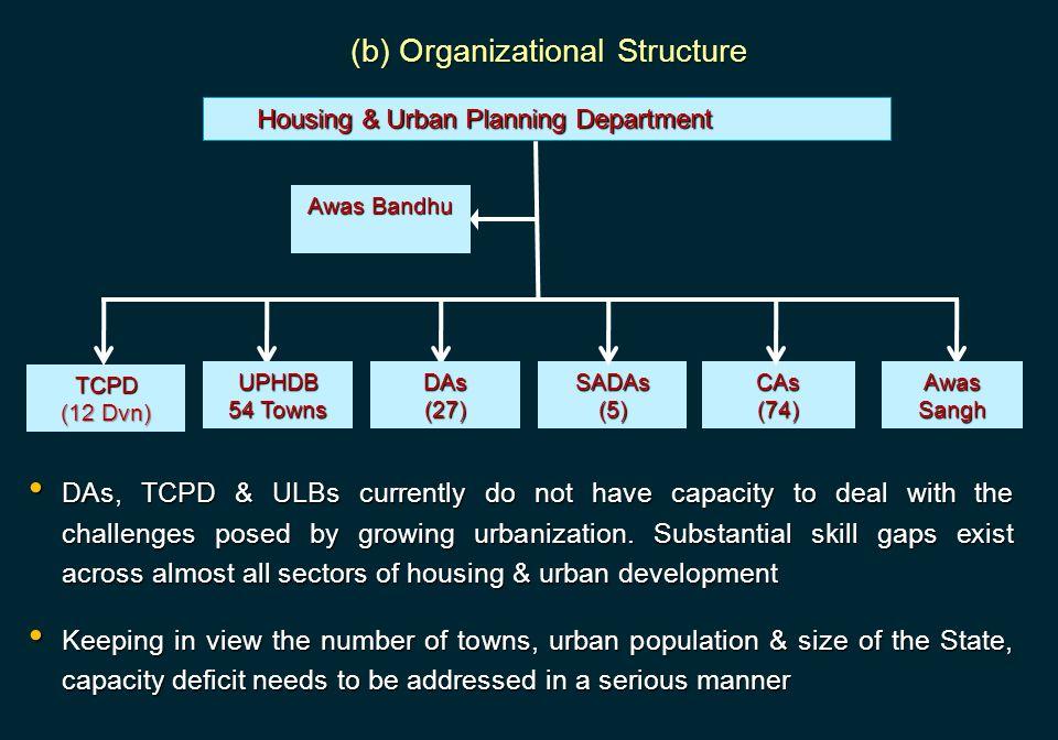 (b) Organizational Structure