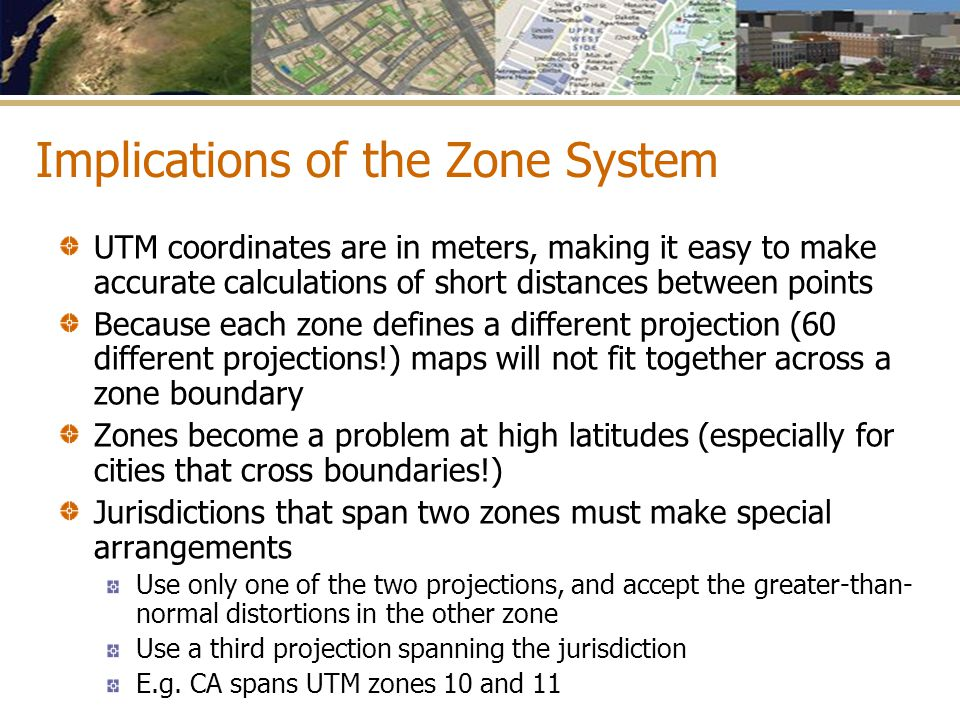 Implications of the Zone System