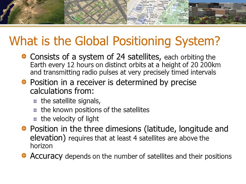 What is the Global Positioning System