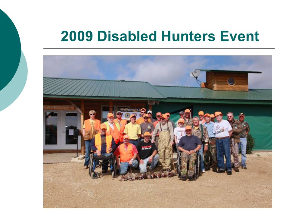 2009 Disabled Hunters Event