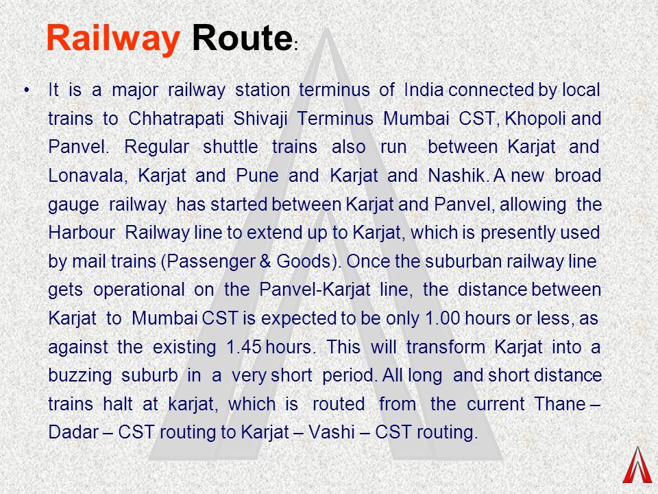 Railway Route: