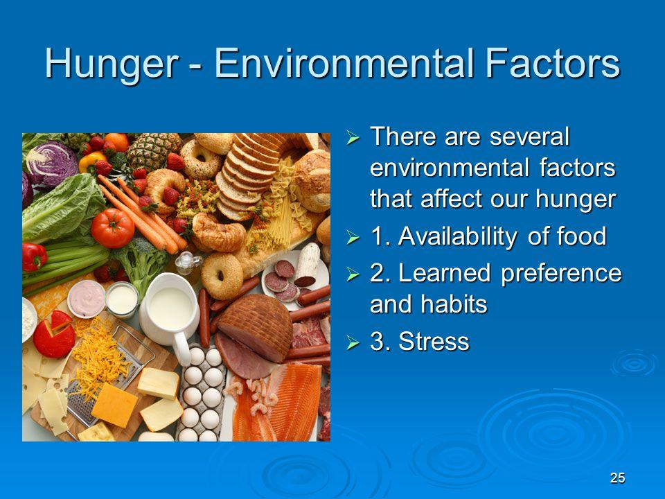 Hunger - Environmental Factors