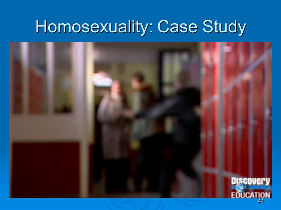 Homosexuality: Case Study