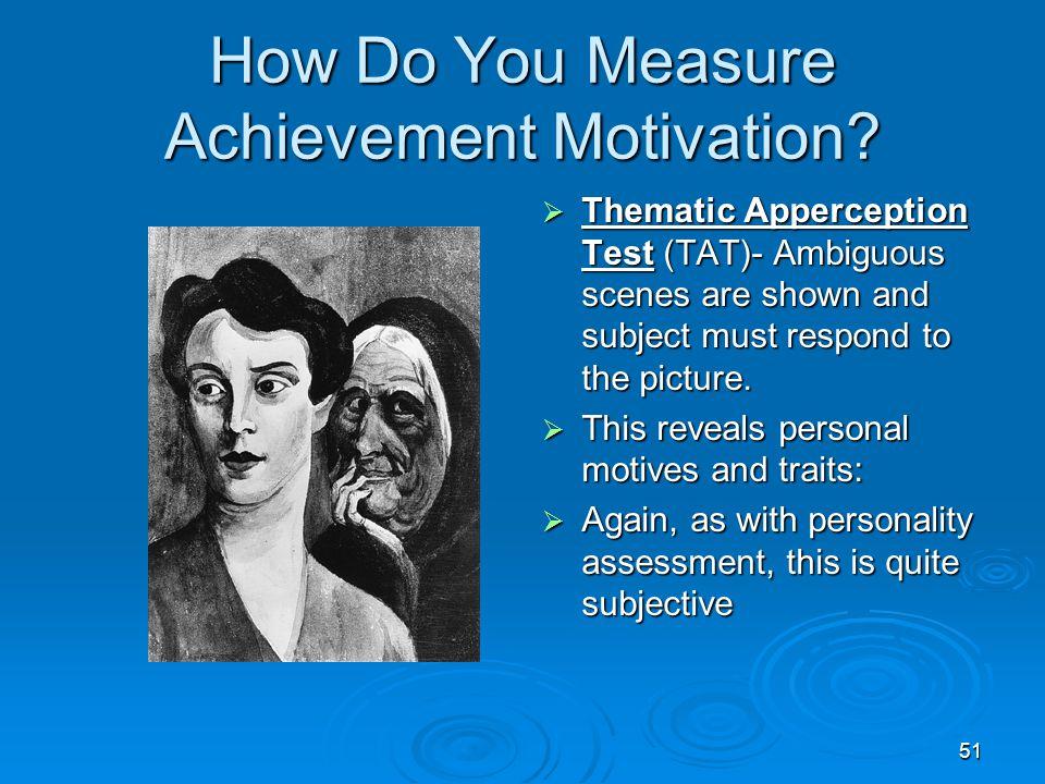 How Do You Measure Achievement Motivation