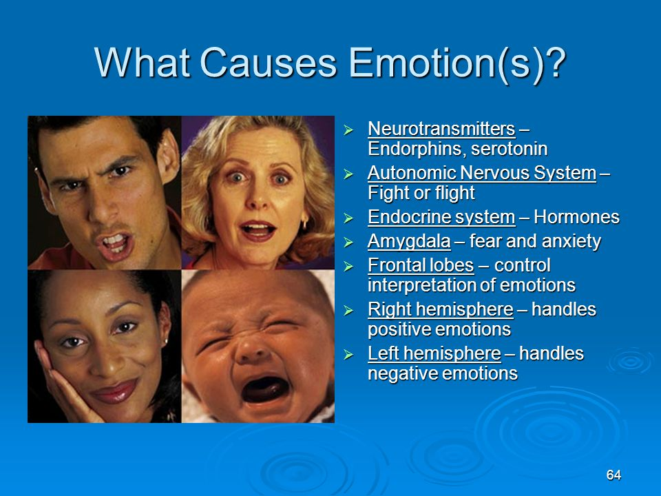 What Causes Emotion(s)