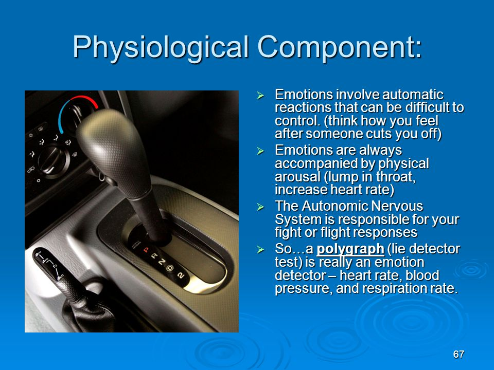 Physiological Component: